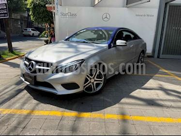 Mercedes Benz Clase E 2p E 250 Coupe L4/2.0/T Aut usado (2016) color Plata precio $365,000