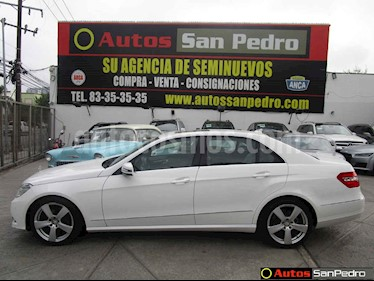 Mercedes Benz Clase E 250 Avantgarde usado (2013) color Blanco precio $255,000