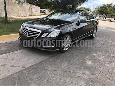 Mercedes Benz Clase E 350 CGI Avantgarde usado (2013) color Negro precio $295,000