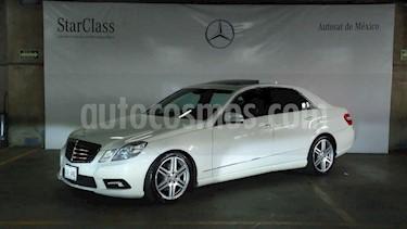 Mercedes Benz Clase E 4p E 350 Sport Edition usado (2011) color Blanco precio $259,000