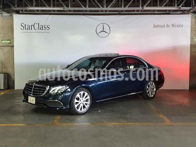 Mercedes Benz Clase E 200 CGI Avantgarde usado (2017) color Negro precio $529,000