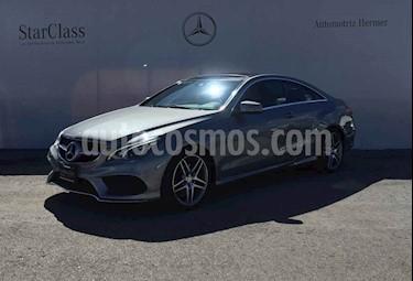 Mercedes Benz Clase E 2p 400 Coupe V6/3.0/T Aut usado (2014) color Gris precio $389,900