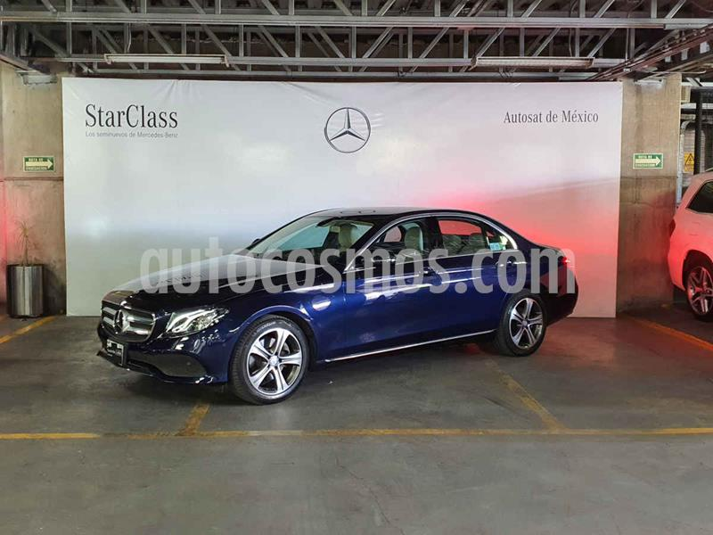 Mercedes Benz Clase E 200 CGI Exclusive usado (2017) color Azul precio $549,000
