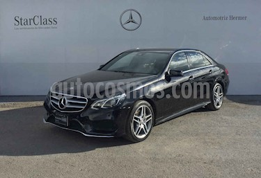 Mercedes Benz Clase E 4p 400 Sport V6/3.0 Aut usado (2014) color Negro precio $399,900