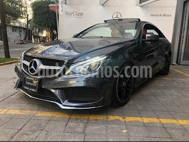Mercedes Benz Clase E 2p 400 Coupe V6/3.0/T Aut usado (2014) color Gris precio $395,000