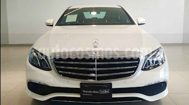 Mercedes Benz Clase E 4p E 200 Exclusive L4/2.0/T Aut usado (2019) color Blanco precio $792,000