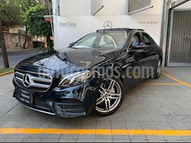 Mercedes Benz Clase E 250 Avantgarde usado (2019) color Azul precio $760,000