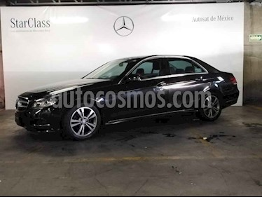 Mercedes Benz Clase E 4p 200 Exclusive L4/2.0/T Aut usado (2014) color Negro precio $329,000