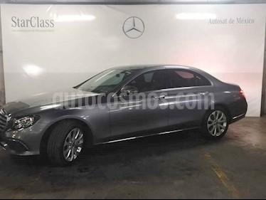 Mercedes Benz Clase E 200 CGI Avantgarde usado (2018) color Gris precio $629,000