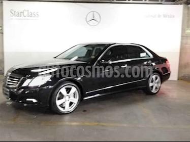 Mercedes Benz Clase E 500 Avantgarde usado (2010) color Negro precio $299,000
