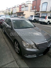 Mercedes Benz Clase E 250 CGI Avantgarde usado (2013) color Plata Paladio precio $260,000
