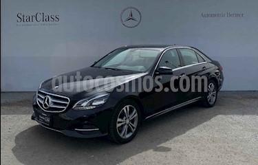 Mercedes Benz Clase E 4p E 200 CGI Avantgarde usado (2014) color Negro precio $294,900