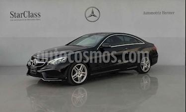 Mercedes Benz Clase E 2p 500 Coupe V8/4.7/T Aut usado (2014) color Negro precio $479,900