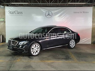 Mercedes Benz Clase E 4p E 200 Exclusive usado (2020) color Negro precio $789,000