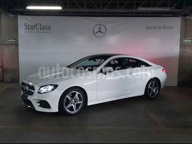 Mercedes Benz Clase E 2p E 400 Coupe V6/3.0/T Aut usado (2018) color Blanco precio $999,000