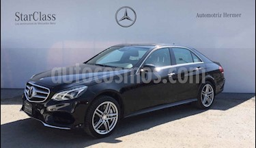 Mercedes Benz Clase E 500 CGI Biturbo usado (2014) color Negro precio $499,900