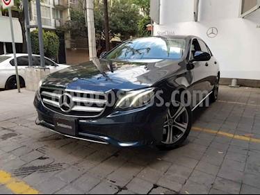 Mercedes Benz Clase E 4p E 200 Avantgarde L4/2.0/T Aut usado (2018) color Azul precio $560,000