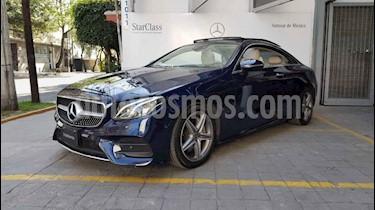 Mercedes Benz Clase E Coupe 400 CGI usado (2018) color Azul precio $860,000
