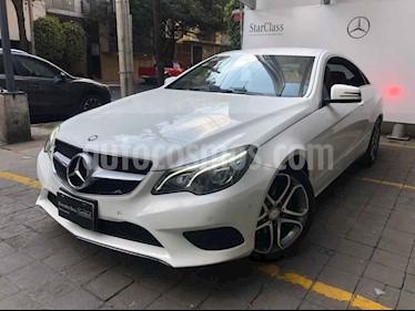 Mercedes Benz Clase E 2p E 250 Coupe L4/2.0/T Aut usado (2016) color Blanco precio $415,000