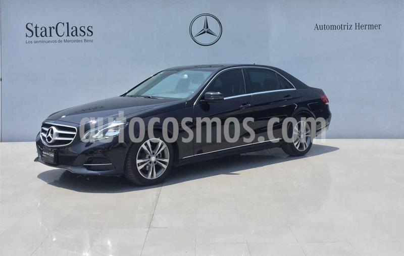 Mercedes Benz Clase E 200 CGI Avantgarde usado (2016) color Negro precio $319,900