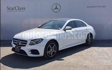 Mercedes Benz Clase E 4p E 400 Sport V6/3.0/T Aut usado (2017) color Blanco precio $699,900