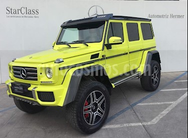 Foto venta Auto usado Mercedes Benz Clase G 500 4X4 Square (2018) color Amarillo precio $4,299,900