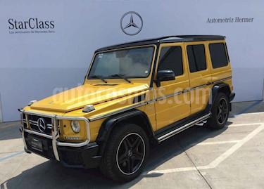 Foto venta Auto usado Mercedes Benz Clase G G 63 AMG Biturbo (2016) color Amarillo precio $2,299,900