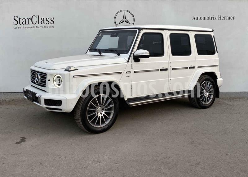 Mercedes Clase G 500 usado (2019) color Blanco precio $3,799,900