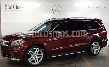 Mercedes Benz Clase GL 500 usado (2014) color Rojo precio $599,000