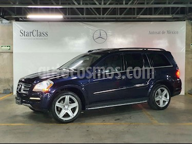 Mercedes Benz Clase GL 5p GL 500 aut usado (2012) color Azul precio $429,000