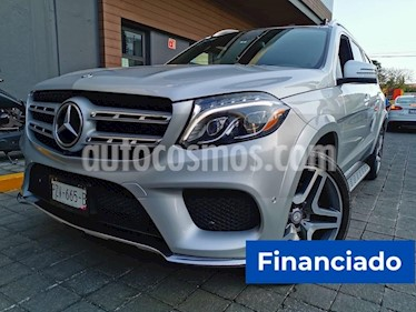 Mercedes Benz Clase GL 500 usado (2017) color Plata Cubanita precio $198,750