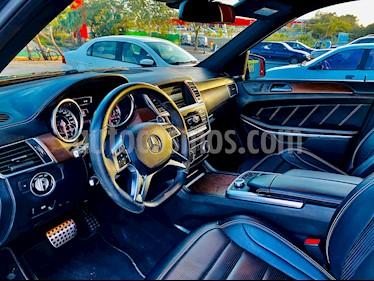 Mercedes Benz Clase GL 63 AMG Biturbo usado (2014) color Negro Obsidiana precio $800,000