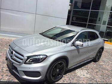 Mercedes Benz Clase GLA 250 CGI Sport 4MATIC usado (2017) color Plata Cubanita precio $389,000