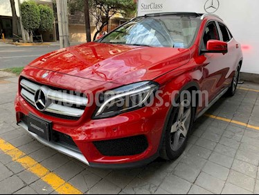 Mercedes Benz Clase GLA 5p GLA 250 Sport L4/2.0 Aut usado (2017) color Rojo precio $465,000