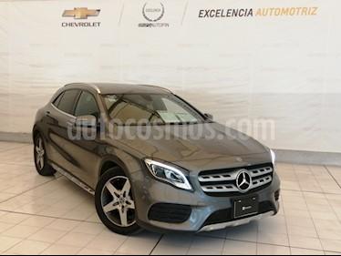 Mercedes Benz Clase GLA 250 CGI Sport Sin Techo Aut  usado (2018) color Gris precio $470,000