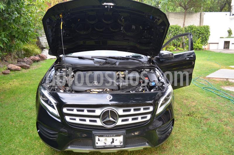 Mercedes Benz Clase GLA 250 CGI Sport Aut usado (2018) color Negro precio $420,000