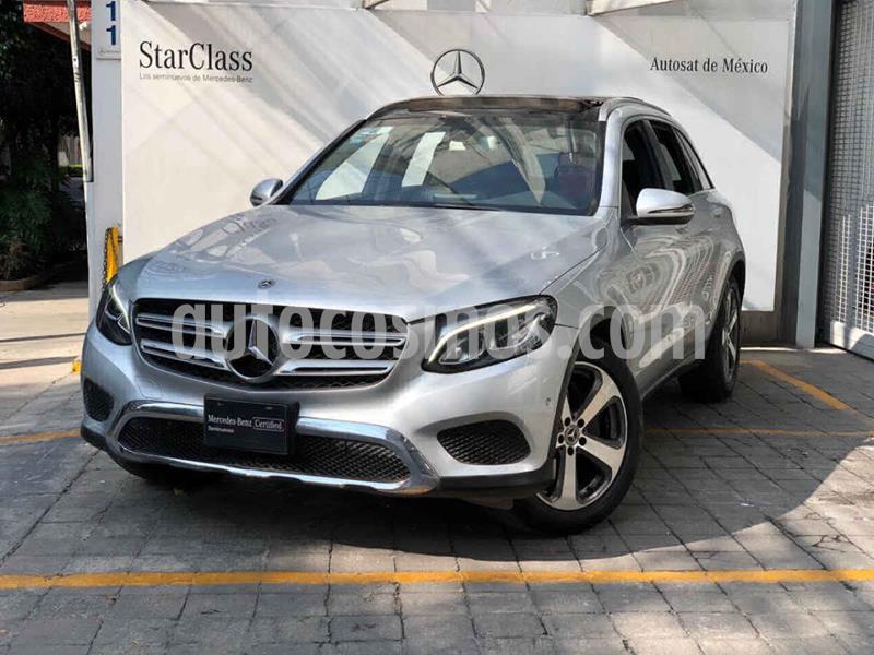 Mercedes Benz Clase GLC 300 Sport usado (2018) color Plata precio $580,000