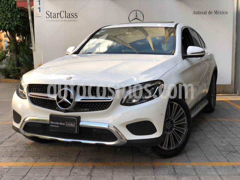 Mercedes Benz Clase GLC 300 4MATIC Avantgarde Coupe usado (2019) color Blanco precio $760,000