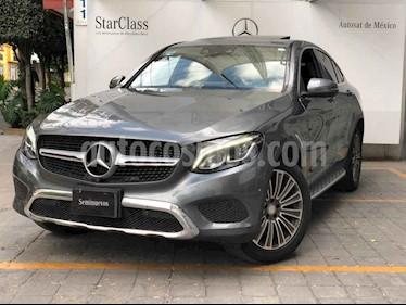 Mercedes Benz Clase GLC Coupe 250 Sport usado (2017) color Gris precio $610,000
