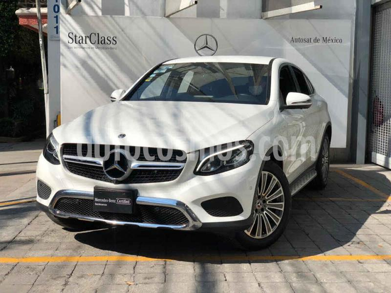 Mercedes Benz Clase GLC 300 4MATIC Coupe usado (2018) color Blanco precio $690,000