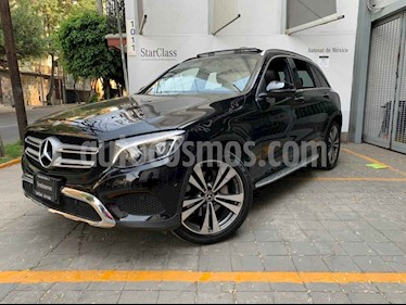 Mercedes Benz Clase GLC 5p 2.0 GLC 300 Sport 4MATIC AT usado (2018) color Negro precio $675,000