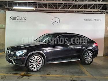 Mercedes Benz Clase GLC 5p GLC 300 Coupe Avantgard L4/2.0/T Aut usado (2018) color Negro precio $699,000