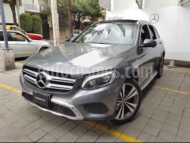 Mercedes Benz Clase GLC 5p GLC 300 Sport L4/2.0/T Aut usado (2019) color Gris precio $740,000