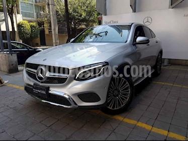 Mercedes Benz Clase GLC 5p GLC 300 Coupe Avantgard L4/2.0/T Aut usado (2018) color Plata precio $740,000