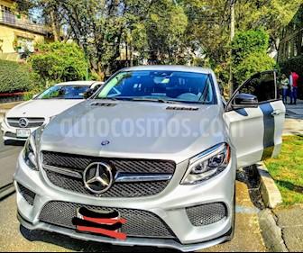 Mercedes Benz Clase GLE Coupe 450 AMG Sport usado (2016) color Plata precio $780,000