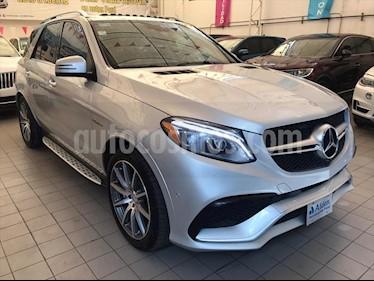Mercedes Benz Clase GLE SUV 63 AMG usado (2016) color Plata precio $745,000