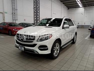 Mercedes Benz Clase GLE 5p GLE 350 Exclusive V6/3.5 Aut usado (2016) color Blanco precio $485,000