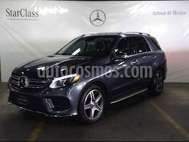 Mercedes Benz Clase GLE 5p GLE 400 Sport V6/3.0/T Aut usado (2016) color Gris precio $689,000