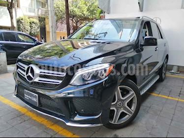 Mercedes Benz Clase GLE 5p GLE 400 Sport V6/3.0/T Aut usado (2018) color Negro precio $870,000