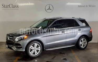 Mercedes Benz Clase GLE 5p GLE 350 Exclusive V6/3.5 Aut usado (2018) color Gris precio $799,000
